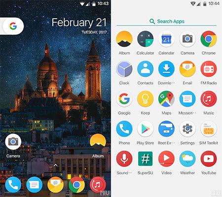 Redmi Note 4 Modded rom screenshot image
