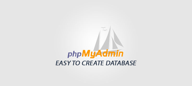 Creating a new MySQL Database using phpMyAdmin in WAMP or XAMPP image
