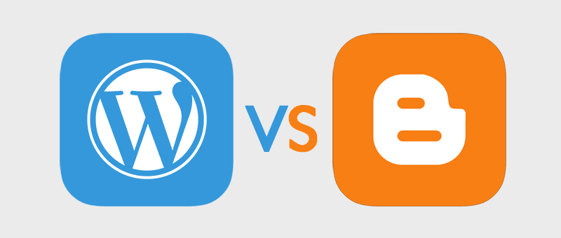 WordPress vs Blogger – Which one is Better? – Pros and Cons image