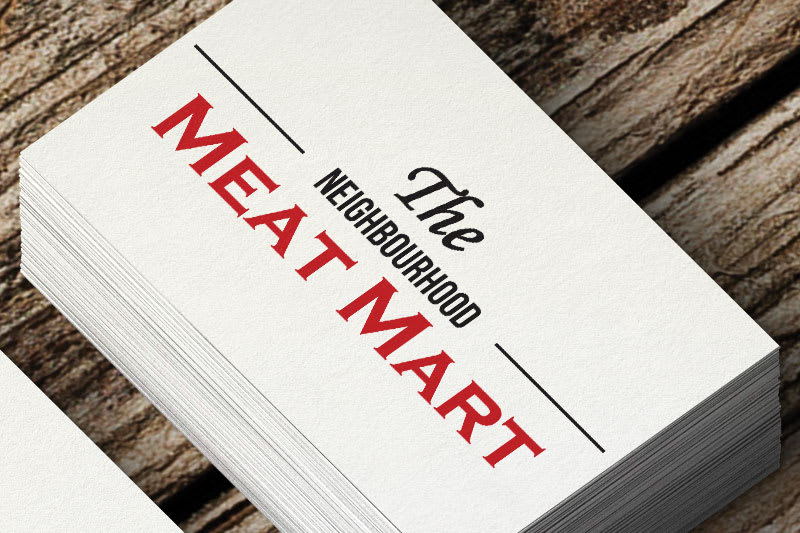 The Neighbourhood Meat Mart Logo Image