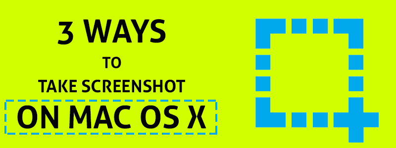 How To Take Screenshot On Mac OS X image