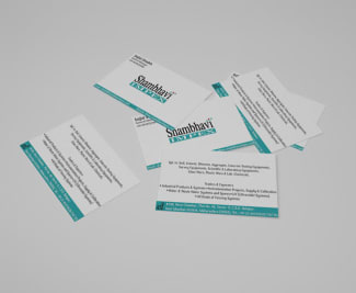 Shambhavi Business Card Image