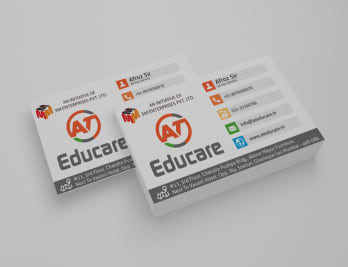 At Educare Business Card Image