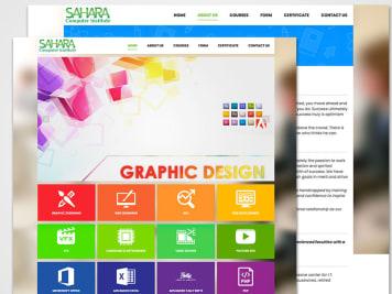 Sahara Computers Website Image