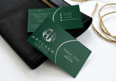 Artchem Business Card Image