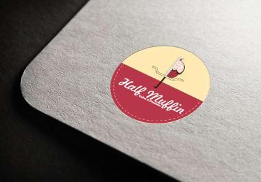 Half Muffin Logo Image