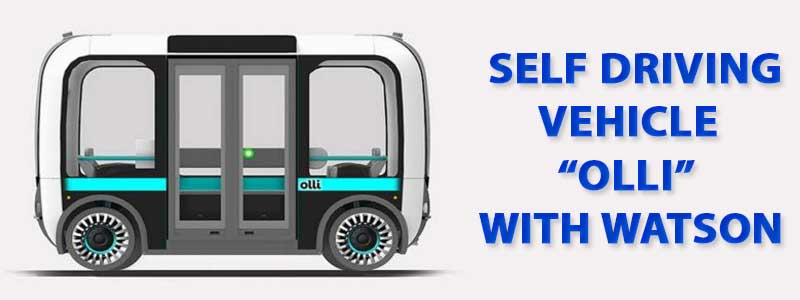 """Local Motors Introduced First Self Driving Vehicle """"Olli"""" with Integration of IBM's Watson image"""