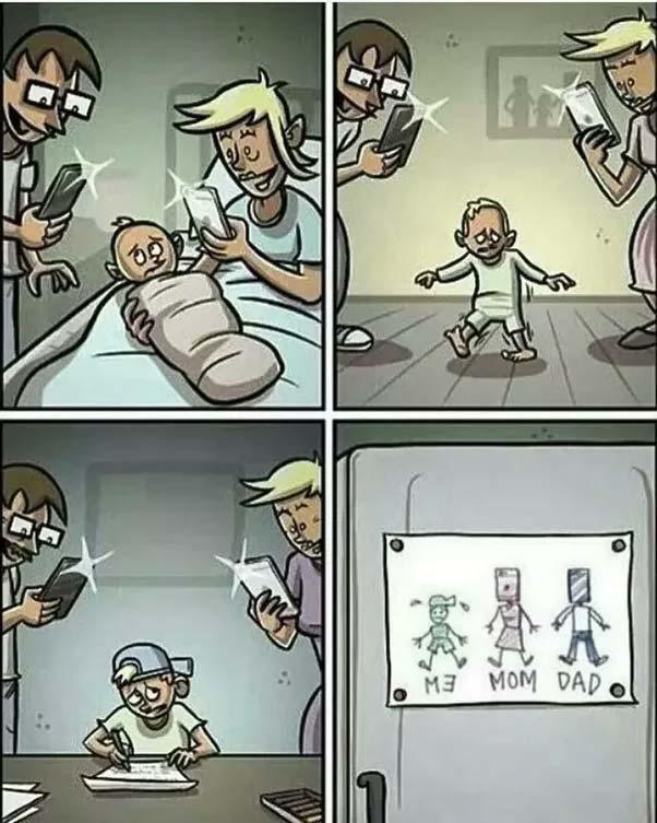 When kids born nowadays