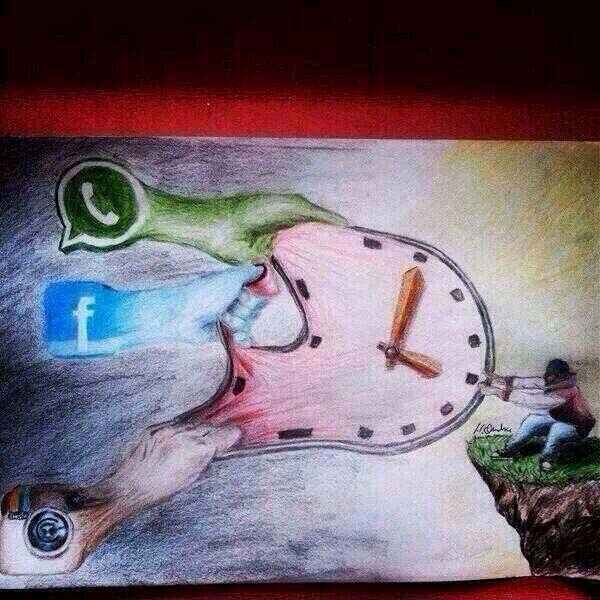 FB, Whatsapp, Instagaram taking your time from you image