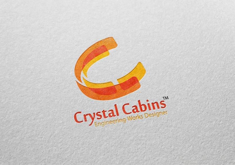 Crystal Cabins Logo Image