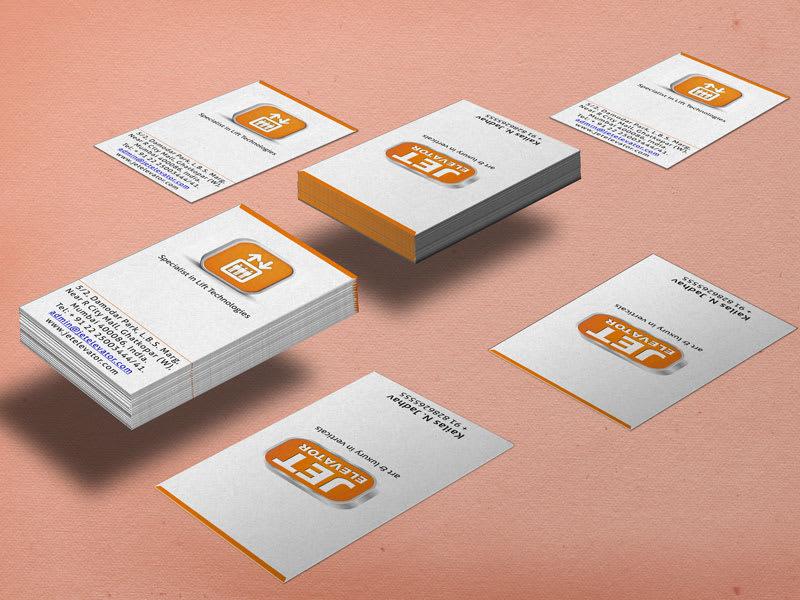 Jet Elevator Business Card Image