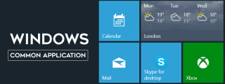 Most Common Applications in Windows for Daily Activity & Productivity image