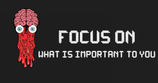 Train Your Brain To Focus on What is important to You right now image