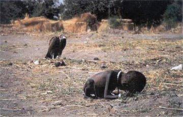 Starving Child in Sudan