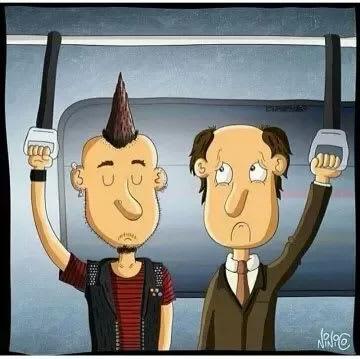 New Generation Haircut gap.