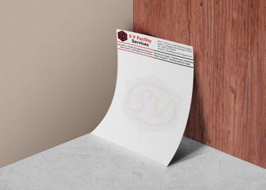SV Facilities Letterhead Image