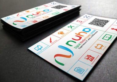 Nuha Digital Media Business Card Image