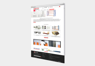 Hari Om Storage Systems Website Image