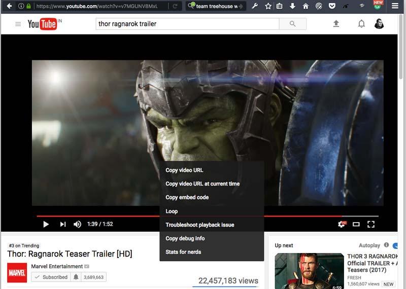 Copy Youtube Video URL image