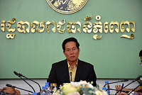 Phnom Penh Governor held a meeting...