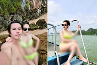 Chou Manh Ming ! Photos of his wife...