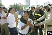 Phnom Penh authorities arrested seven...