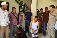 Two arrested drug traffickers, five...
