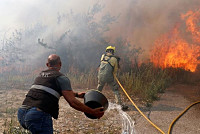 Extreme forest fires in central Portugal