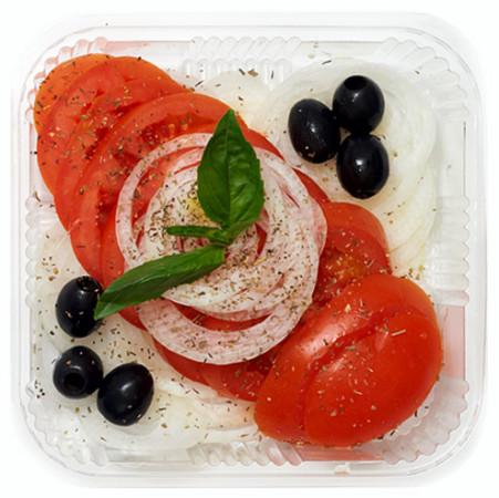 Tomatensalat mit Zwiebeln French