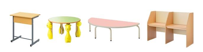 教室用テーブル