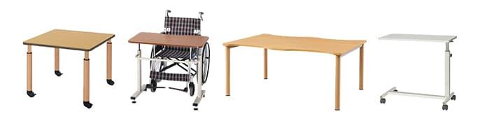 介護施設テーブル