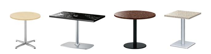 人工大理石テーブル