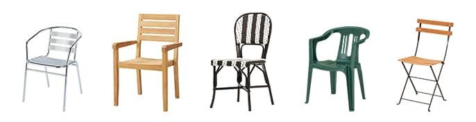テラス椅子