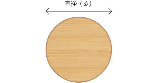 円形テーブル脚検索