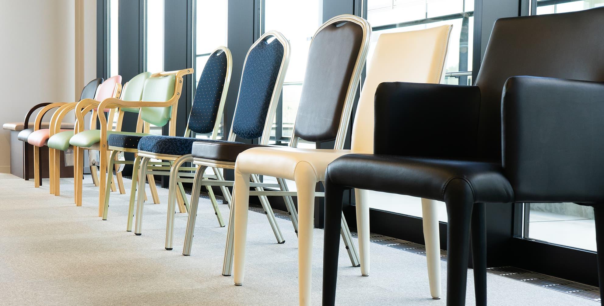 ハストネットショールーム 椅子