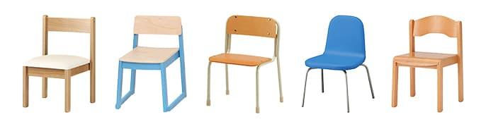 幼児施設椅子