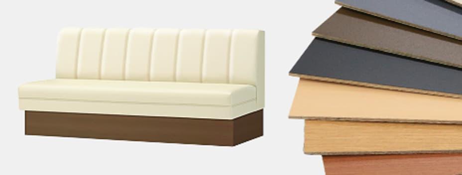 ソファ台輪板サンプル