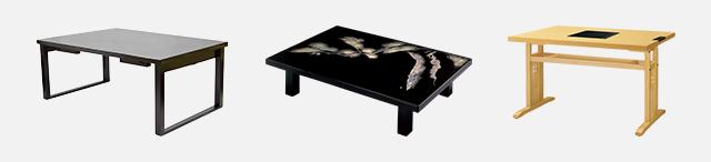 和風テーブル