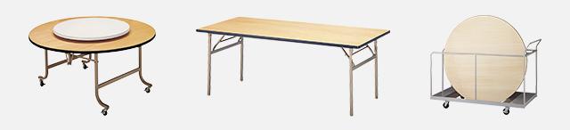 ベニヤテーブル