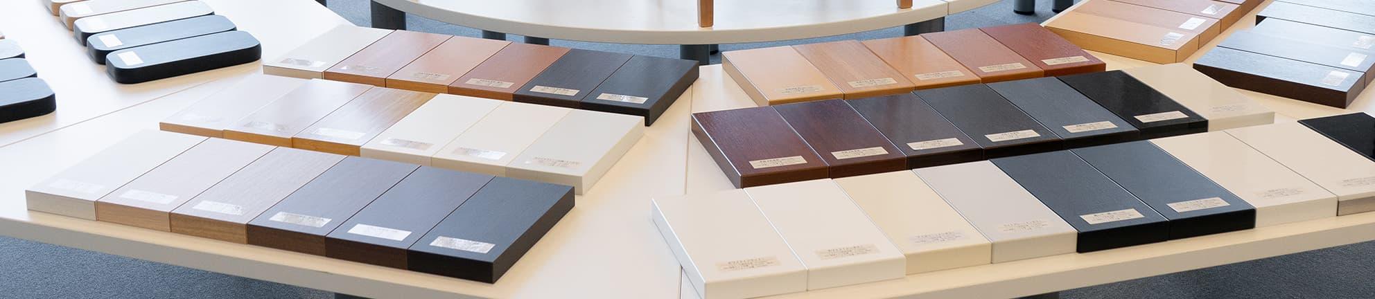 テーブル天板種類別特集