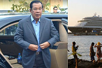 Cambodian Prime Minister Hun Sen will...
