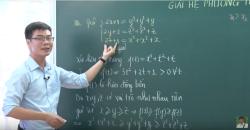 Giáo viên dạy Online giúp bạn đạt điểm 8,9 môn Toán THPT Quốc Gia