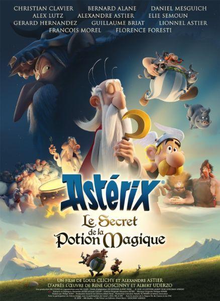 poster : Asterix et le Secret de la Potion Magique