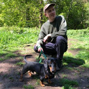 Sam - Dog walker for Green Dog Walking in London