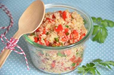 Taboulé de quinoa à la thaïe