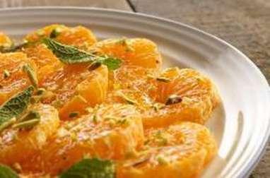 Salade de clémentines au miel et romarin