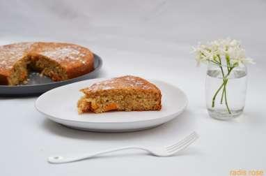 Gâteau au yaourt abricot et amande
