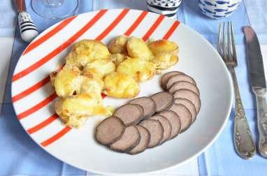 Pommes de terre Gwennie à la Tome de Rhuys