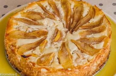 Gâteau moelleux aux poires et à la ricotta