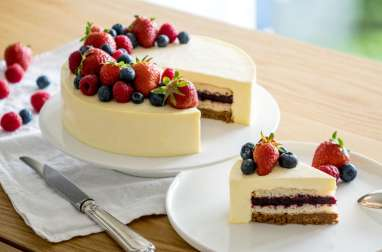 Entremets cheesecake
